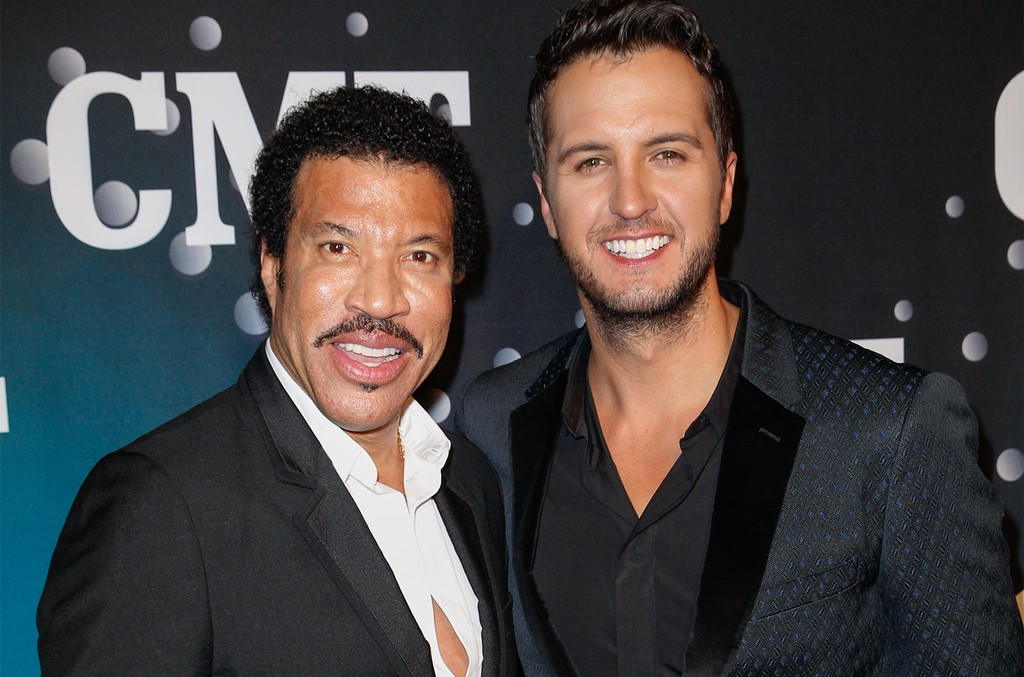 Lionel Richie and Luke Bryan