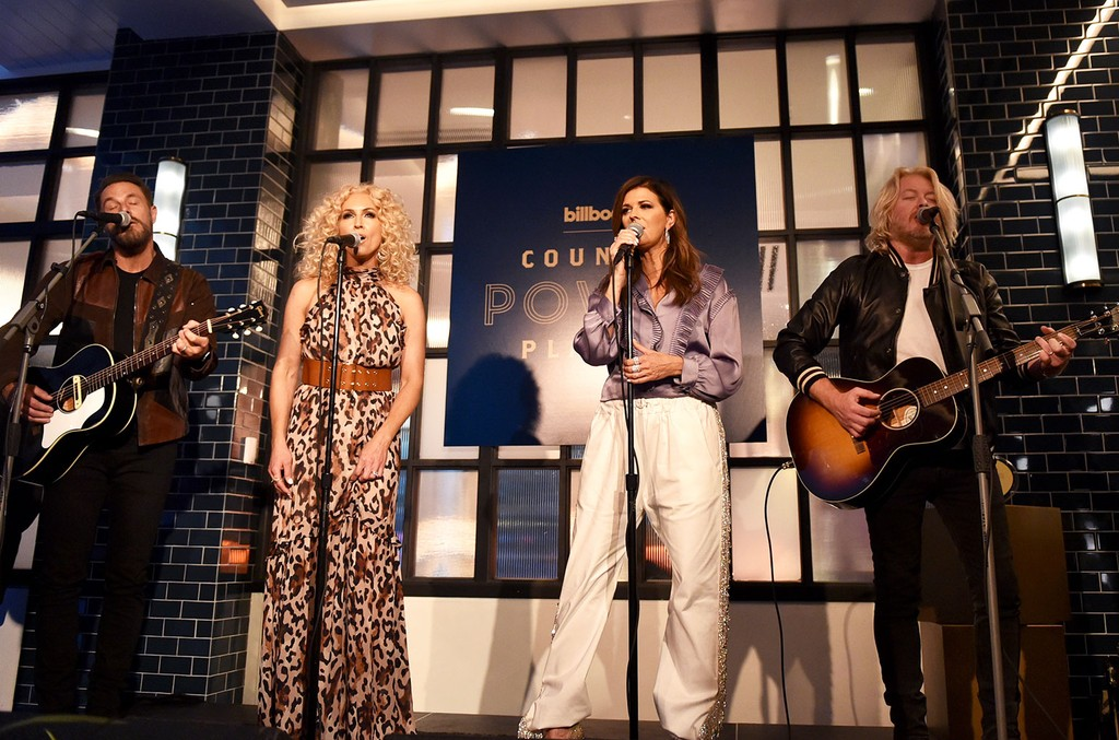 Little Big Town performs onstage during 2019 Billboard Country Power Players at Stateside Kitchen at The Dream Hotel on June 4, 2019 in Nashville.