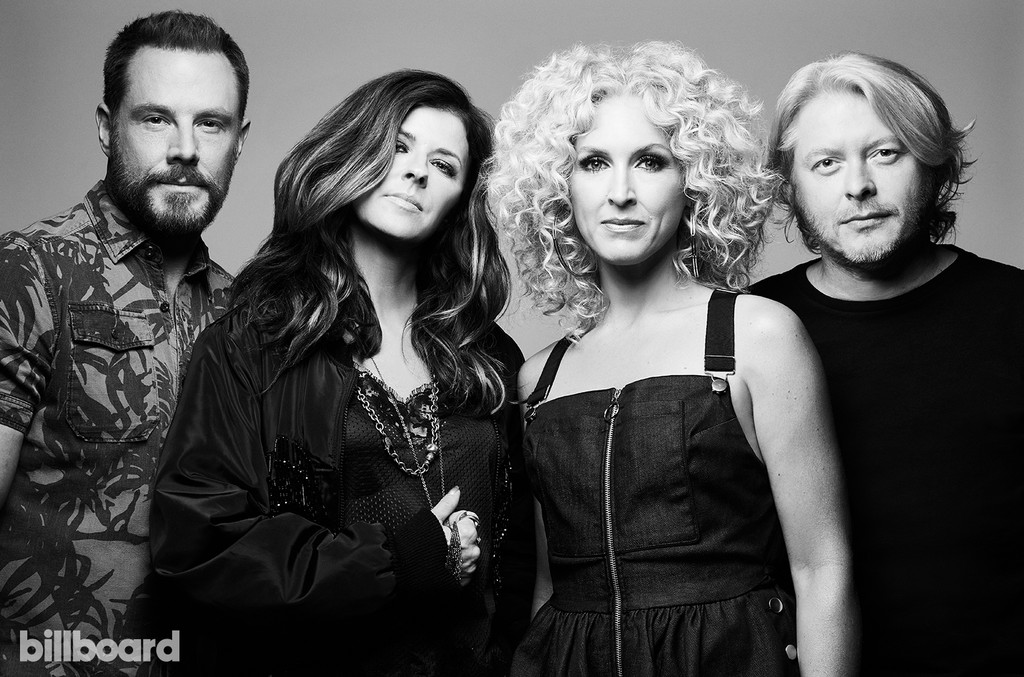 Little Big Town photographed on June 11, 2017 at Nissan Stadium in Nashville, Tenn.