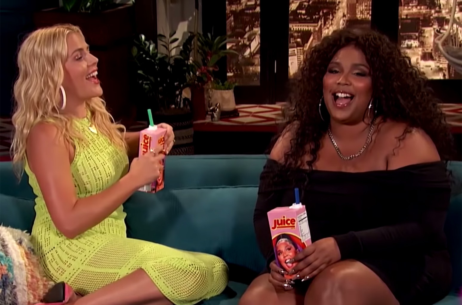 Lizzo on Busy Tonight