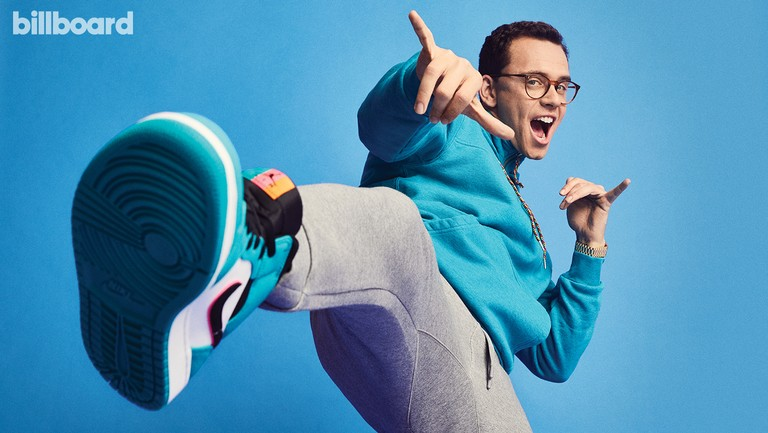 <p>Logic photographed on Dec. 3, 2018 at Smashbox Studios in Culver City, Calif. Styling by Mercedes Natalia. Logic wears a FRAME hoodie, Armani Exchange joggers, Nike shoes and Rolex watch.&nbsp&#x3B;</p>