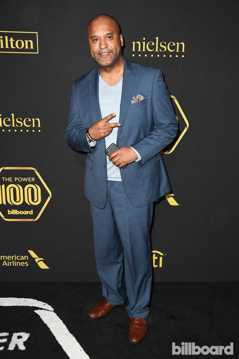Entertainment attorney, producer, and publisher L. Londell McMillan attends Billboard Power 100 - Red Carpet at Cecconi's on Feb. 9, 2017 in West Hollywood, Calif.