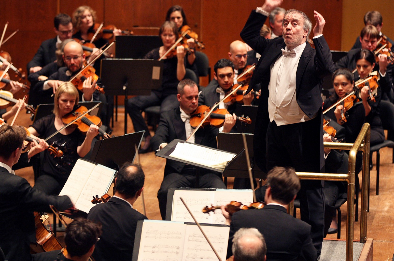London Symphony Orchestra performs at David Geffen Hall on Oct. 23, 2015.