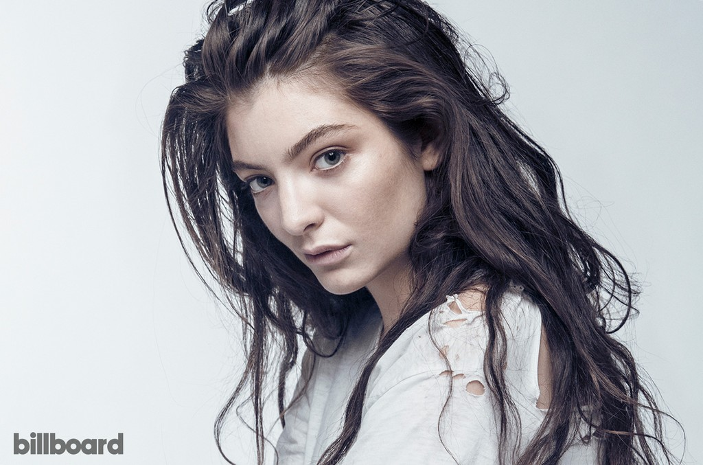 Lorde was photographed on October 8, 2014 at Milk Studios in Los Angeles.