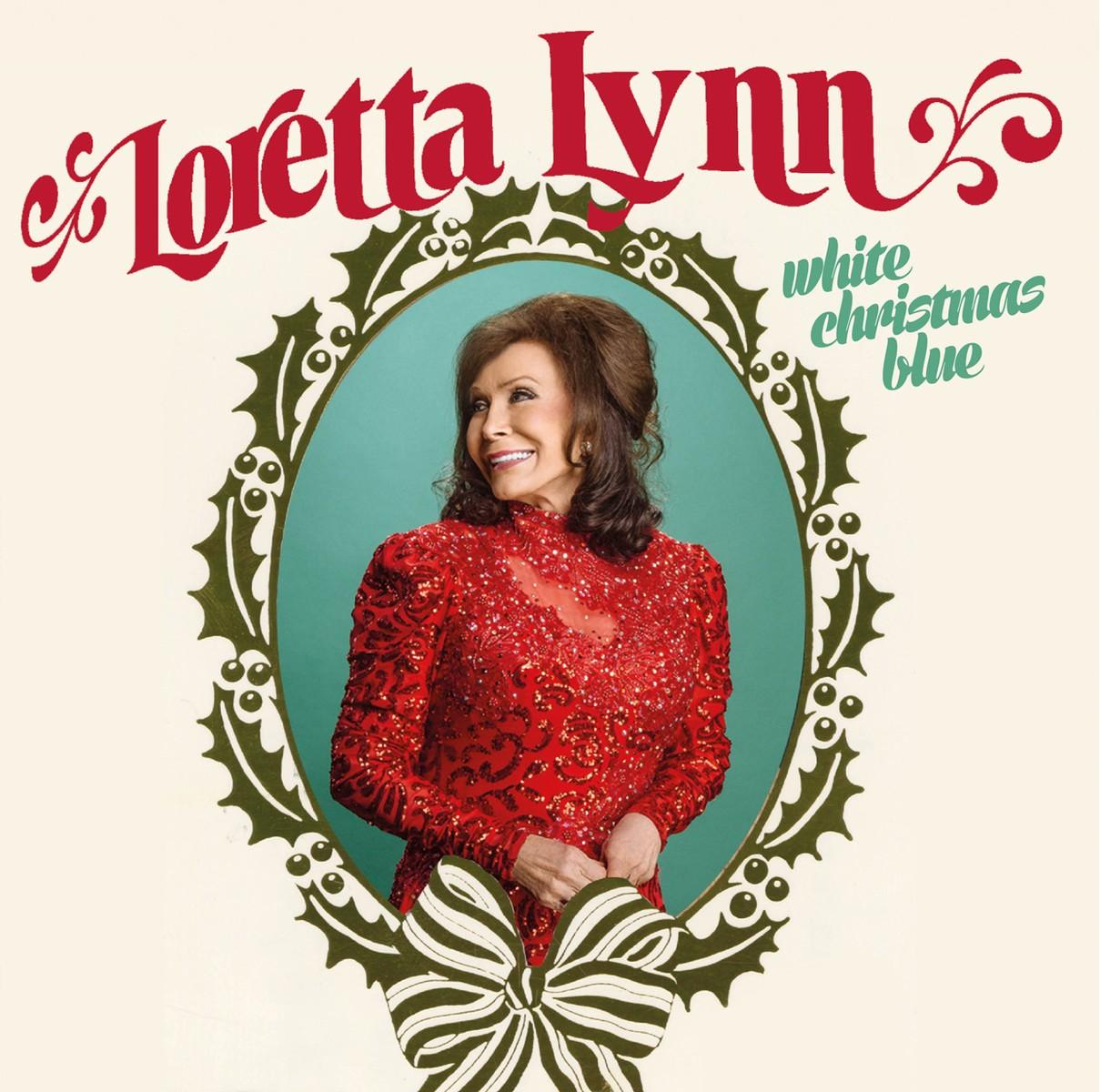 'White Christmas Blue' by Loretta Lynn