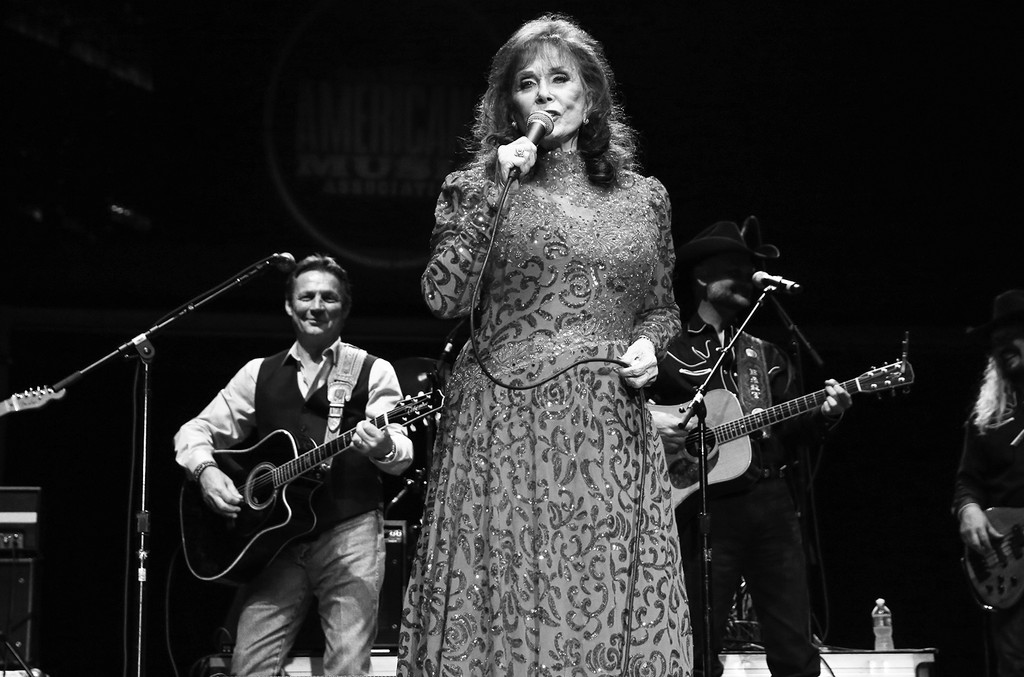 Loretta Lynn performs during the 16th Annual Americana Music Festival & Conference at Ascend Amphitheater on Sept. 19, 2015 in Nashville.