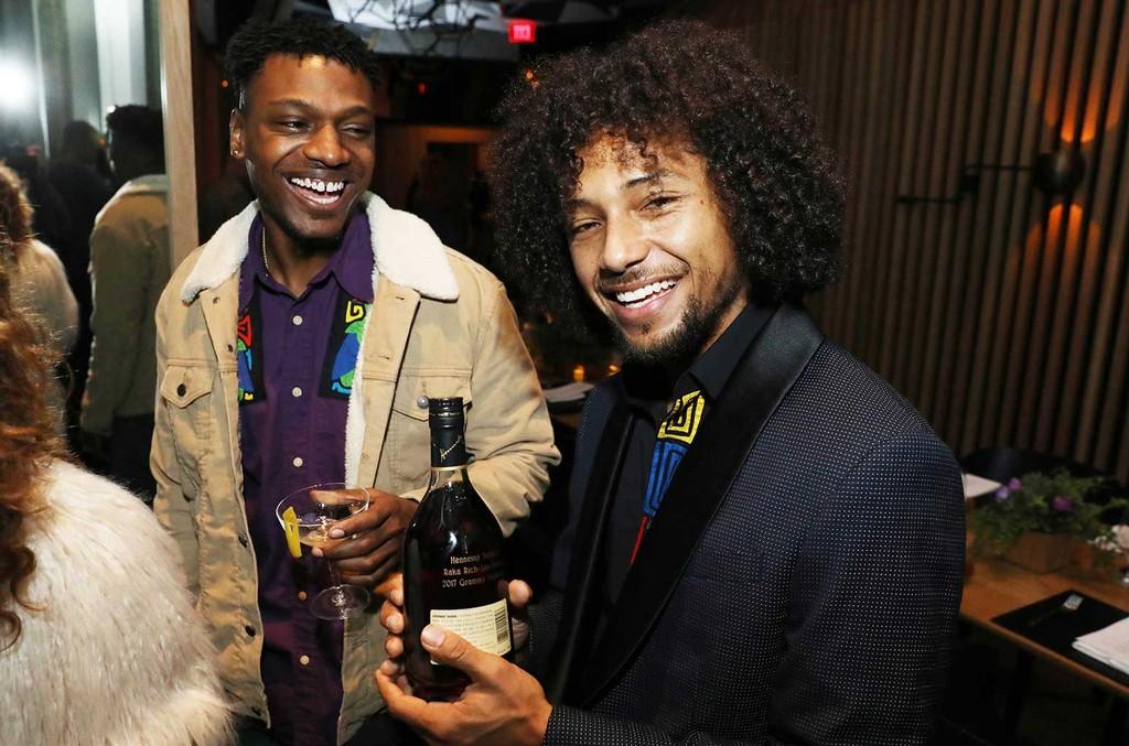Hennessy Salutes First-Time Grammy Nominees Los Rakas at Intimate Dinner in Los Angeles.   Matt Sayles/AP
