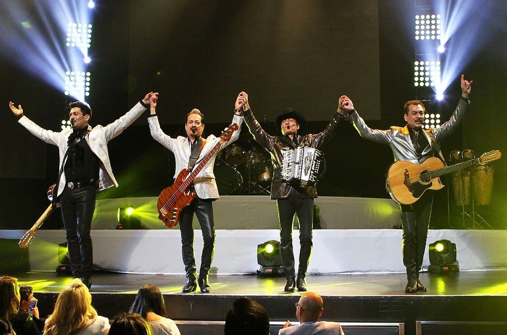 Los Tigres Del Norte perform in Los Angeles.