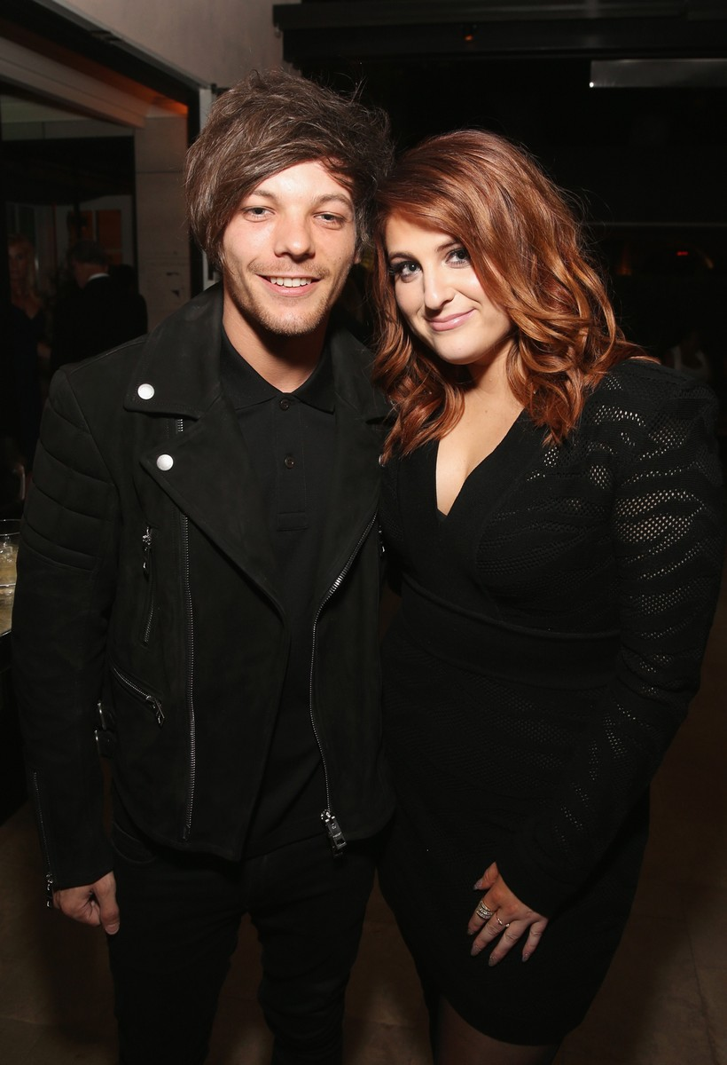 Louis Tomlinson and Meghan Trainor
