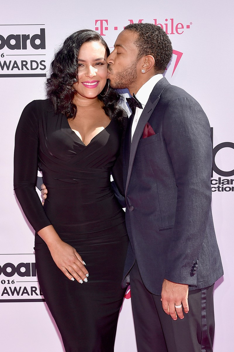 Ludacris and Eudoxie Mbouguiengue at the 2016 Billboard Music Awards