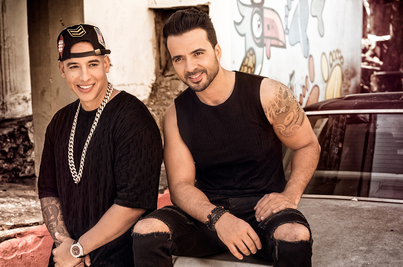 Luis Fonsi and Daddy Yankee