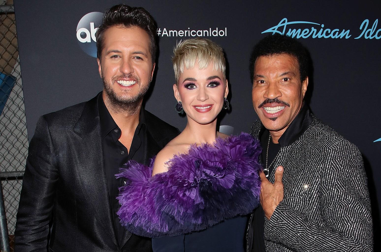 Luke Bryan, Katy Perry Lionel Richie