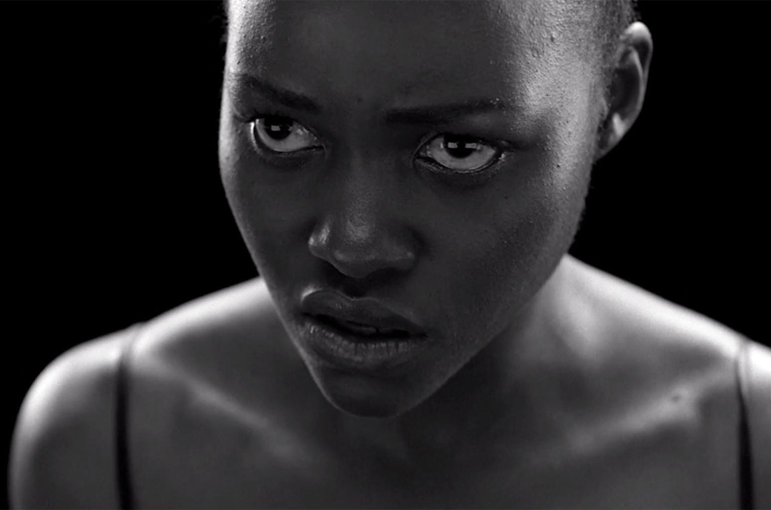Lupita Nyong'o in Jay-Z's MaNyfaCedGod