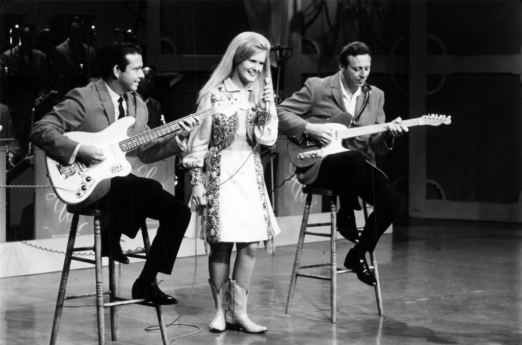 Buddy Merrill, Lynn Anderson and Neil Levang