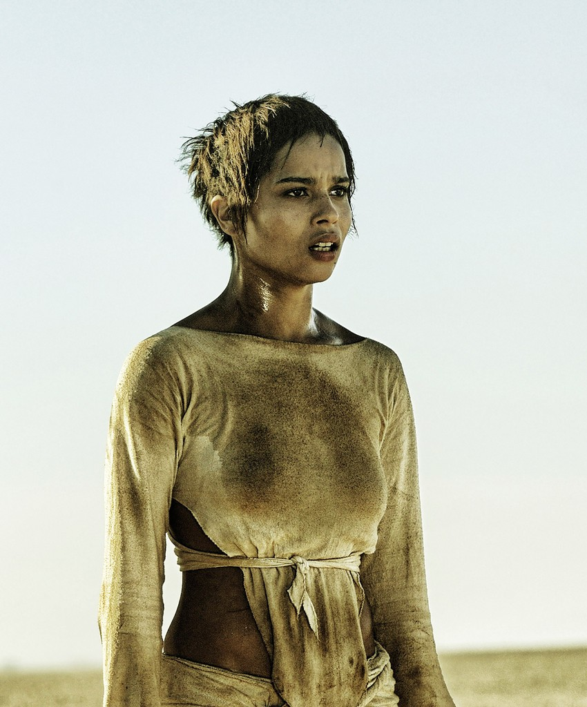 "?Zoe Kravitz in ""Mad Max: Fury Road"" in 2015."