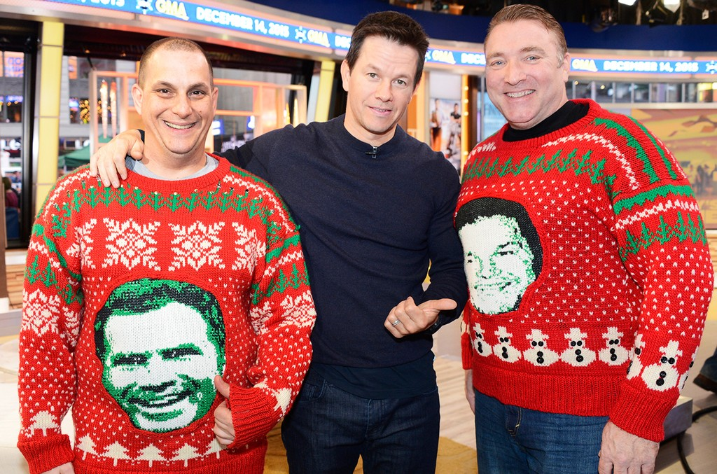 Mark Wahlberg, ugly sweater