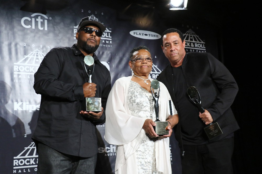 MC Ren, Kathie Wright & DJ Yella