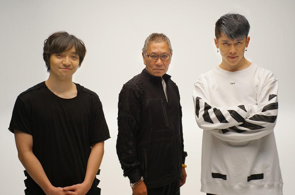 Daichi Miura, Takashi Miike and MIYAVI