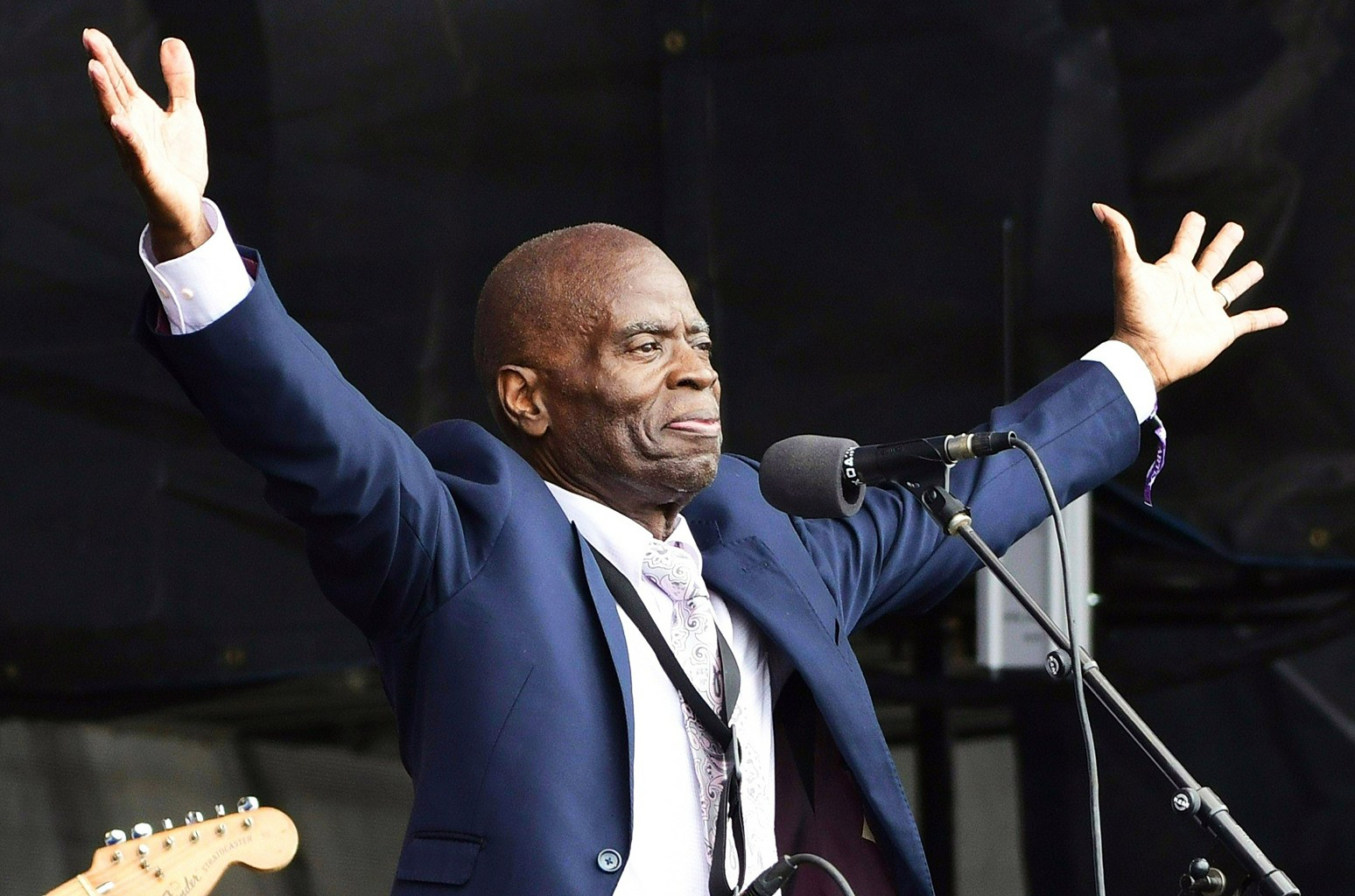Maceo Parker performs at Newport Jazz Festival 2017