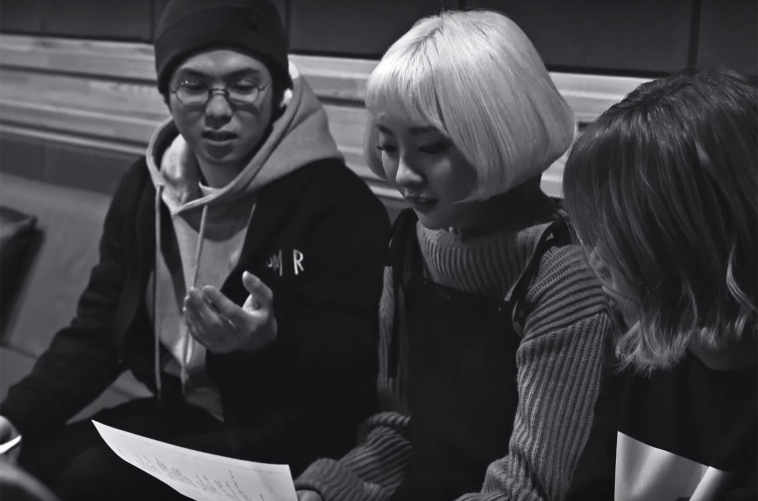 "Mad Clown and Bolbbalgan4 in the video for ""Lost Without You"""