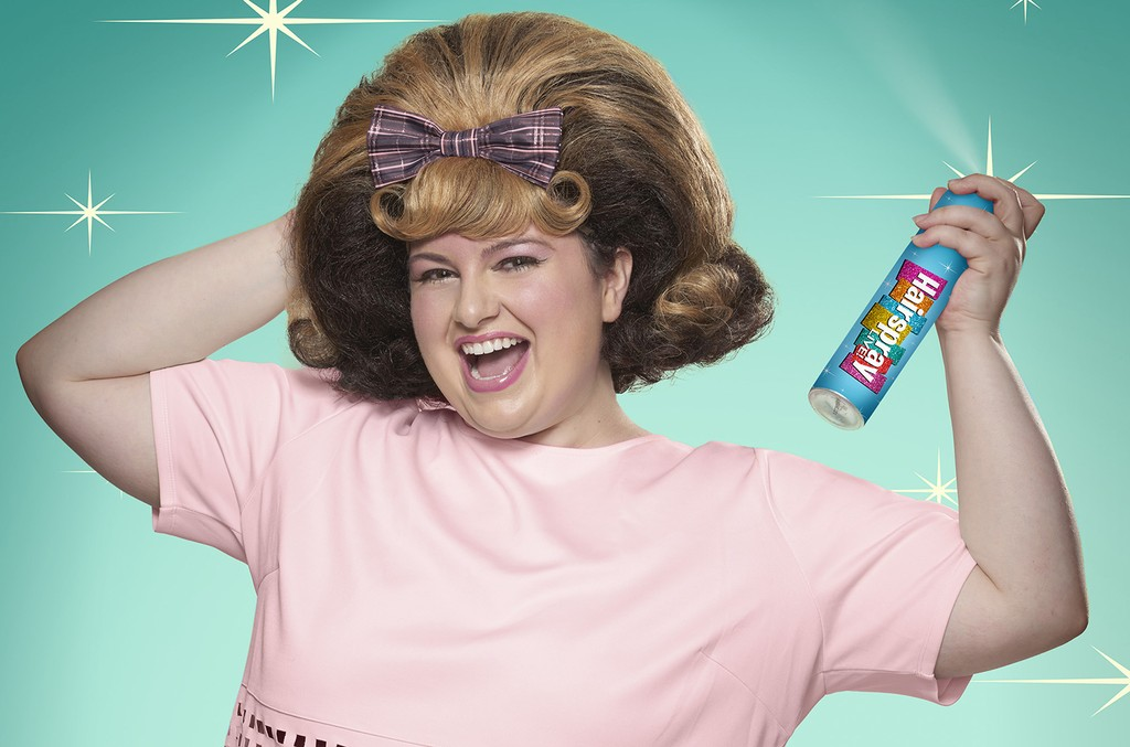 Maddie Baillio as Tracy Turnblad in Hairspray Live