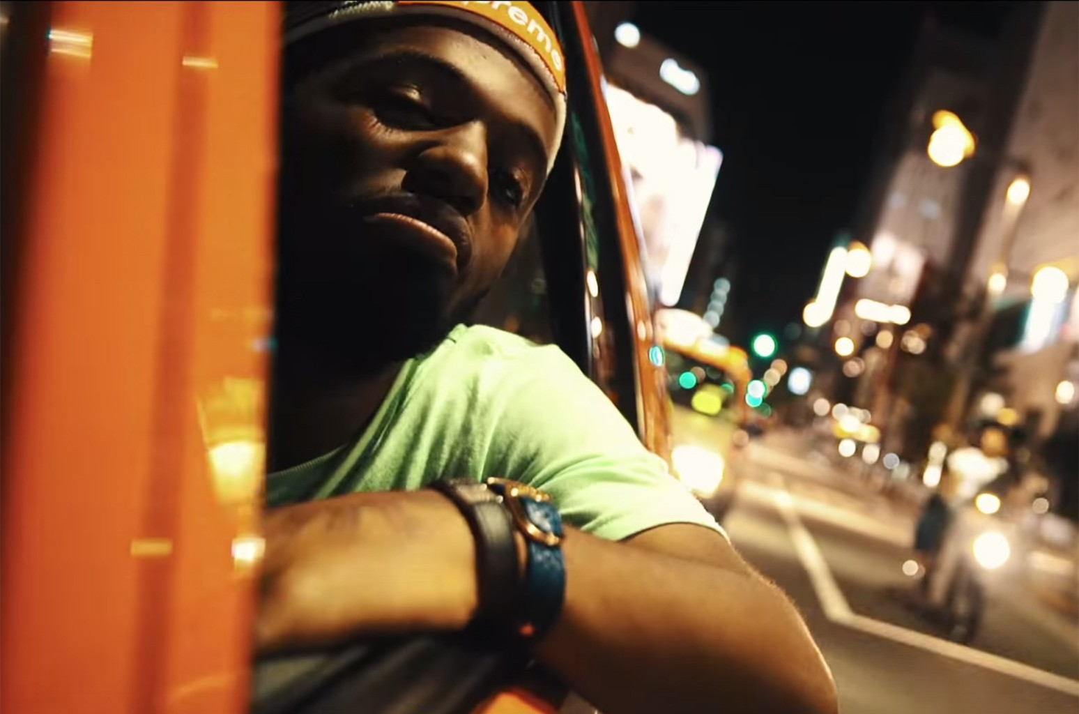 "Madeintyo in the video for ""Mr. Tokyo."""