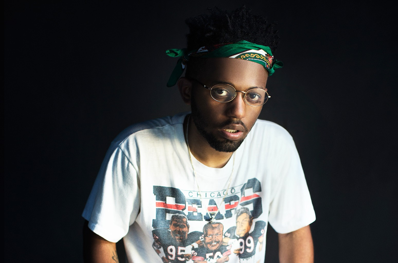 Madeintyo photographed on March 16, 2016 in Austin, Texas during SXSW.