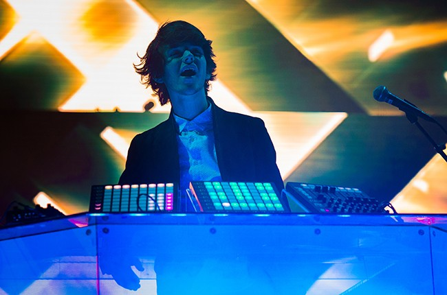 Madeon performs at Madison Square Garden