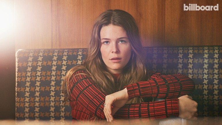 <p>Maggie Rogers photographed on Dec. 20, 2018, at Stay Gold in New York.</p>