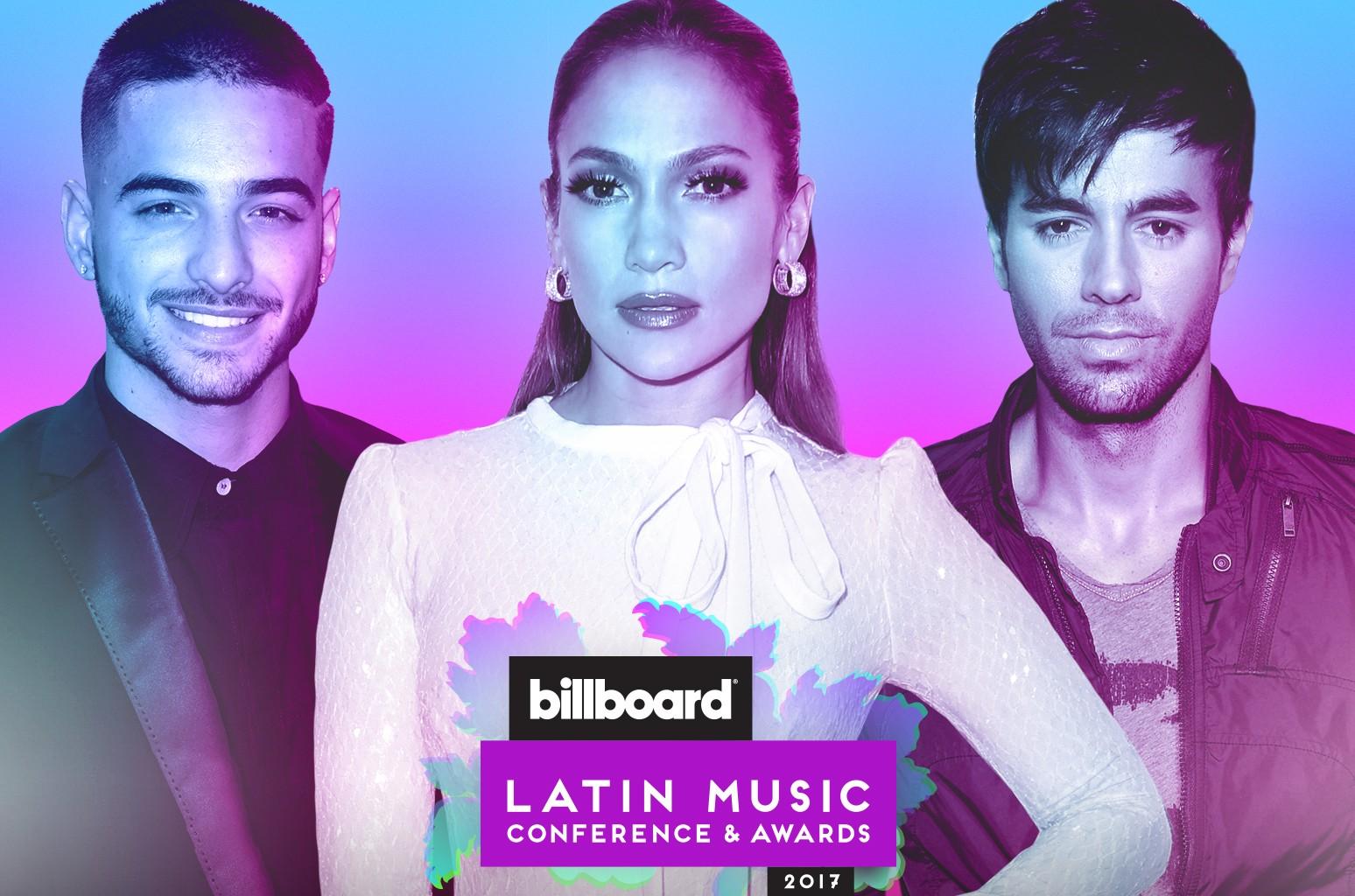 Maluma, Jennifer Lopez & Enrique Iglesias