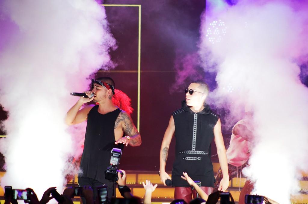 Maluma and Tomas the Latin Boy