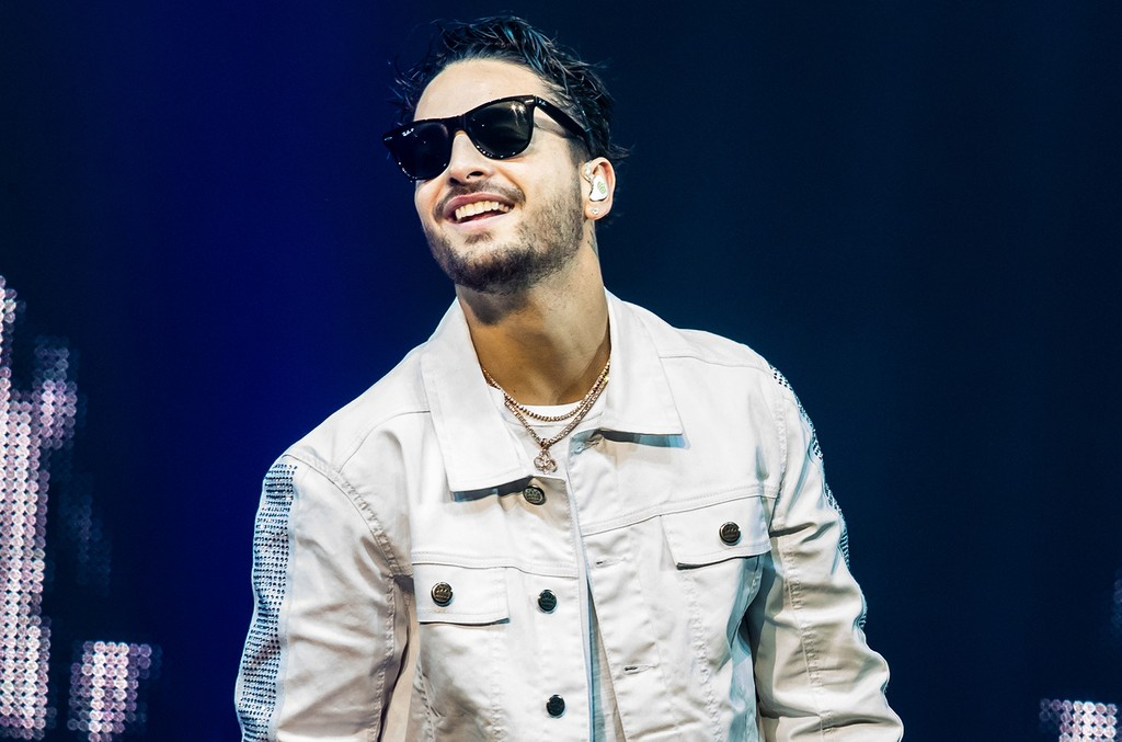 Maluma performs at The Chelsea at The Cosmopolitan in Las Vegas on March 24, 2017.
