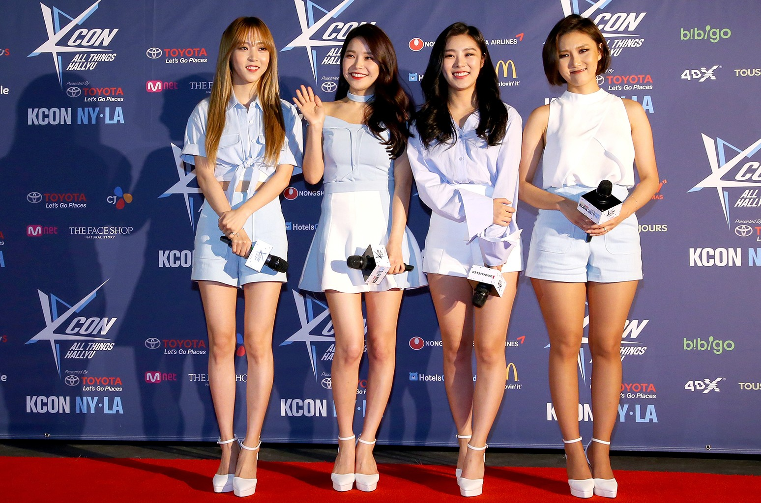 Mamamoo attend KCON 2016