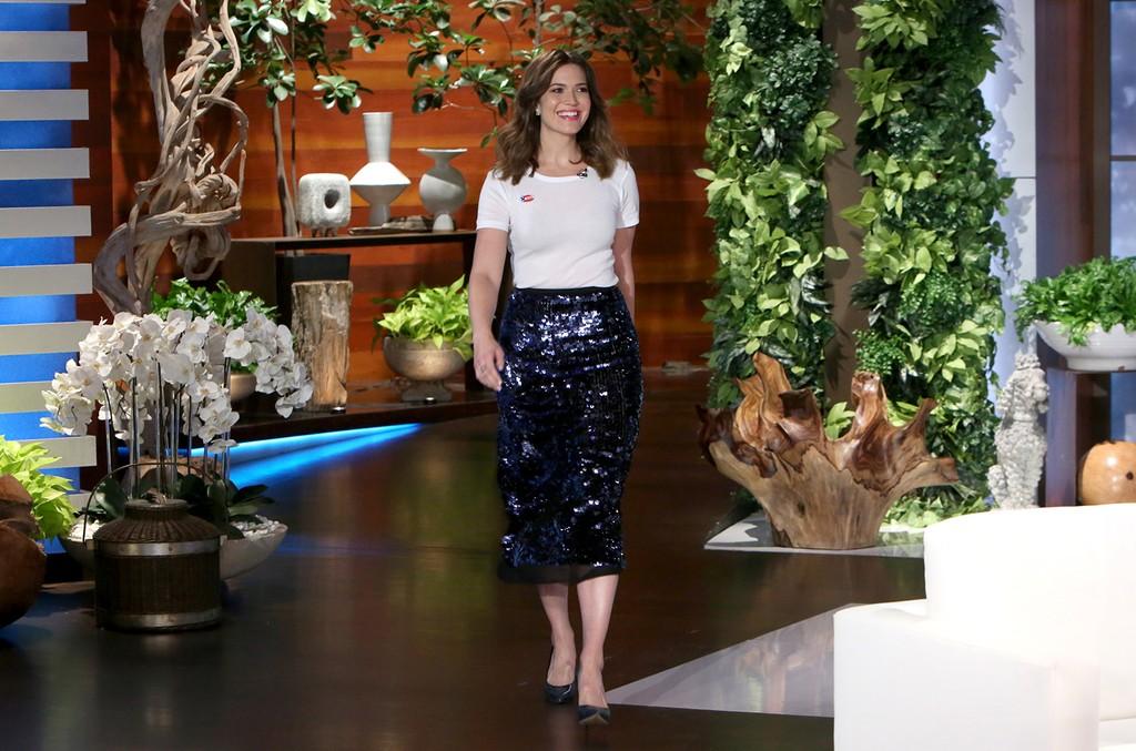 "Mandy Moore on ""The Ellen DeGeneres Show"" on Nov. 8, 2016."