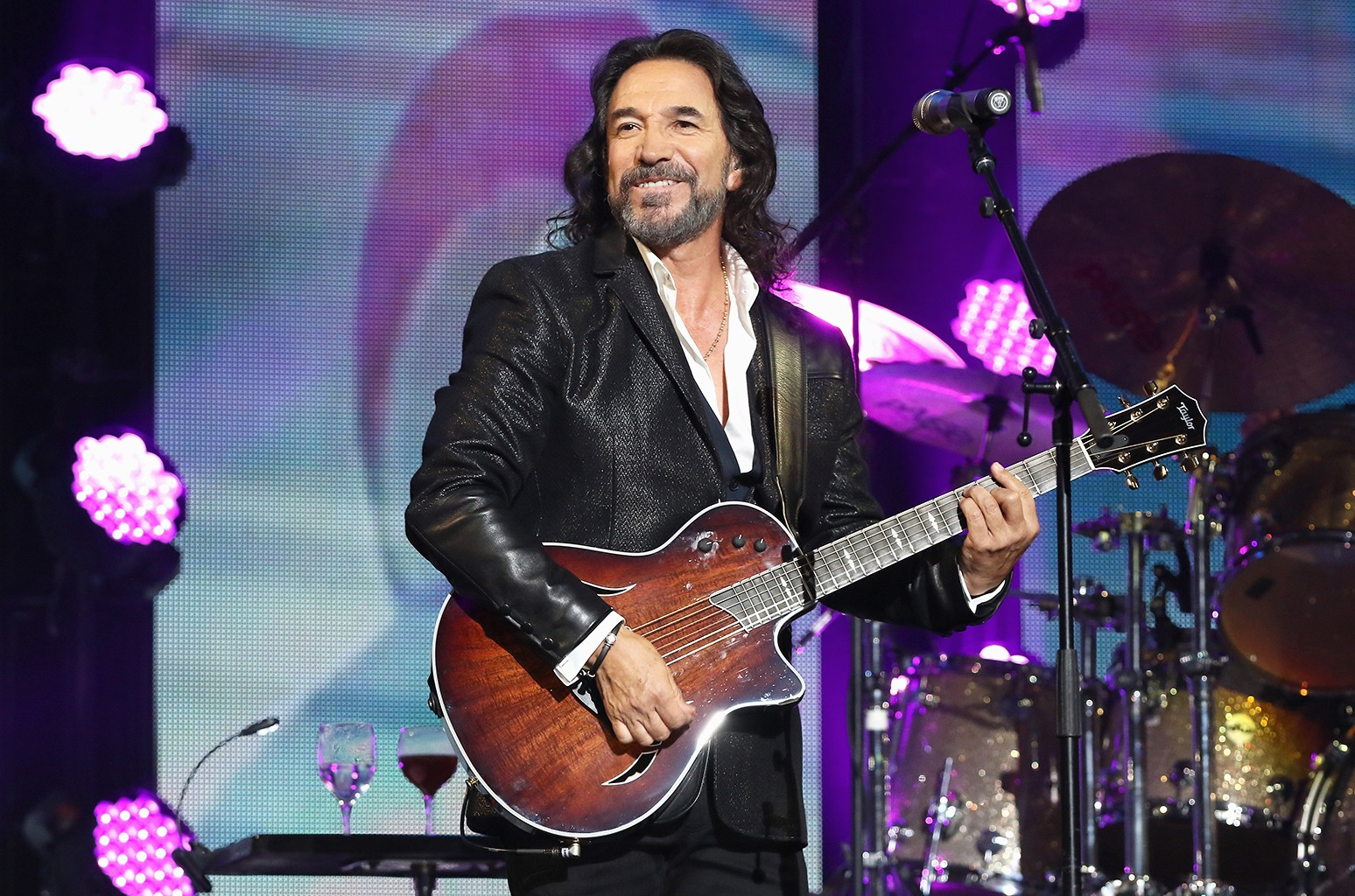 Marco Antonio Solis performs in Miami