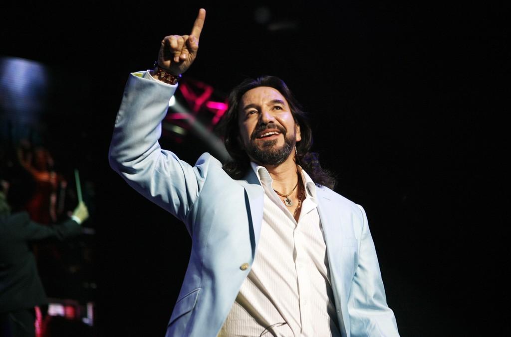 Marco Antonio Solis performs at Madison Square Garden
