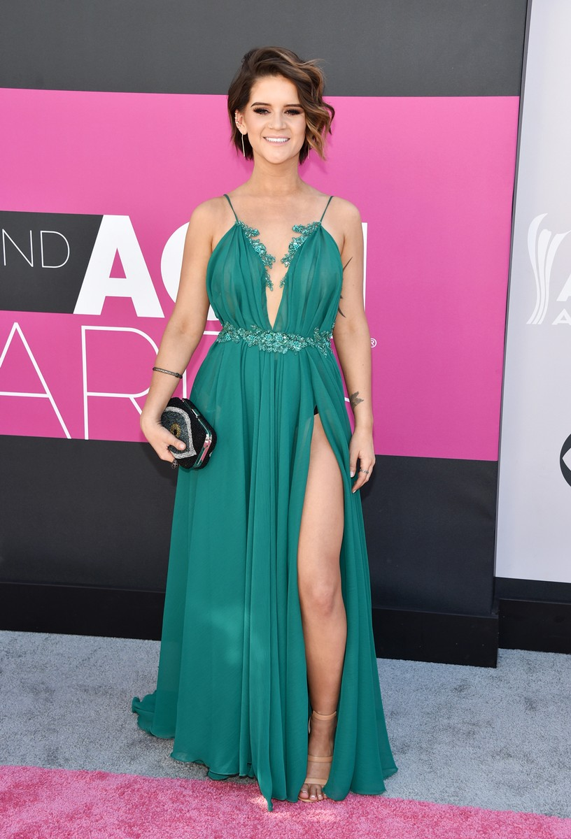 Maren Morris attends the 52nd Academy Of Country Music Awards at Toshiba Plaza on April 2, 2017 in Las Vegas.