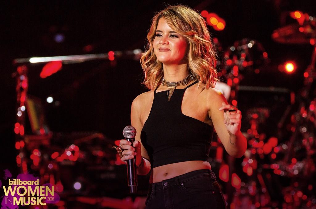Maren Morris performs during the 2016 CMA Music Festival at Nissan Stadium on June 9, 2016 in Nashville, Tenn.
