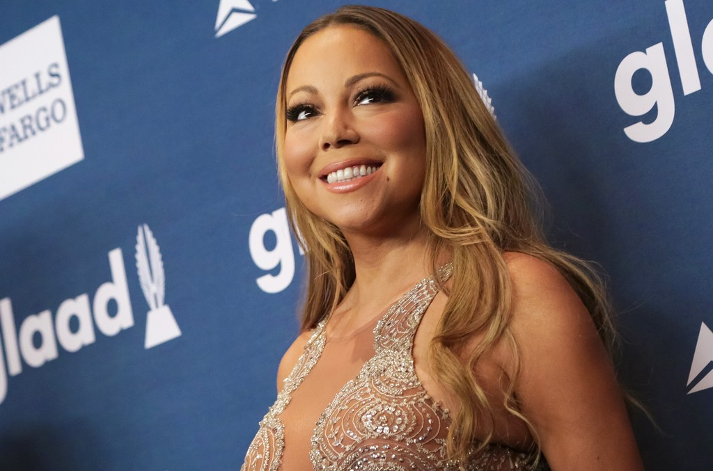 Mariah Carey attends the 27th Annual GLAAD Media Awards