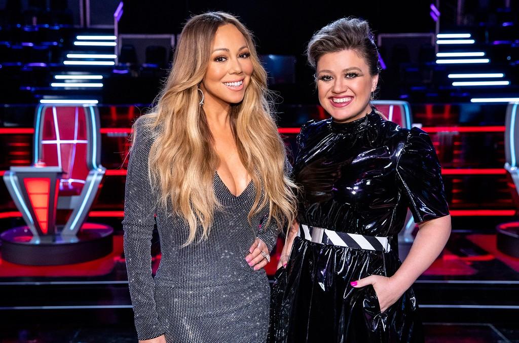 Mariah Carey and Kelly Clarkson