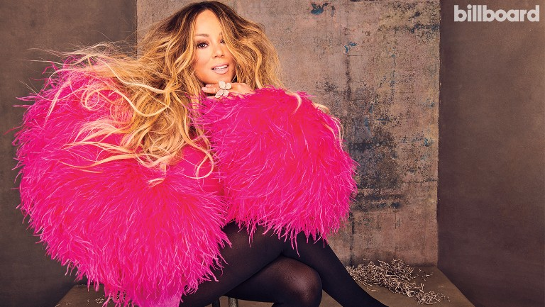 <p>Mariah Carey photographed on Nov. 8, 2019 at Spring Studios in New York.&nbsp&#x3B;Styling by Jason Rembert Christian Cowan dress, Wolford tights, Lorraine Schwartz earrings.</p>