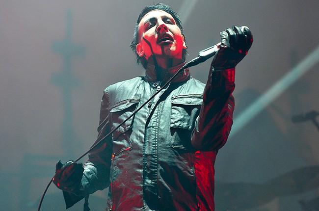 Marilyn Manson 2016