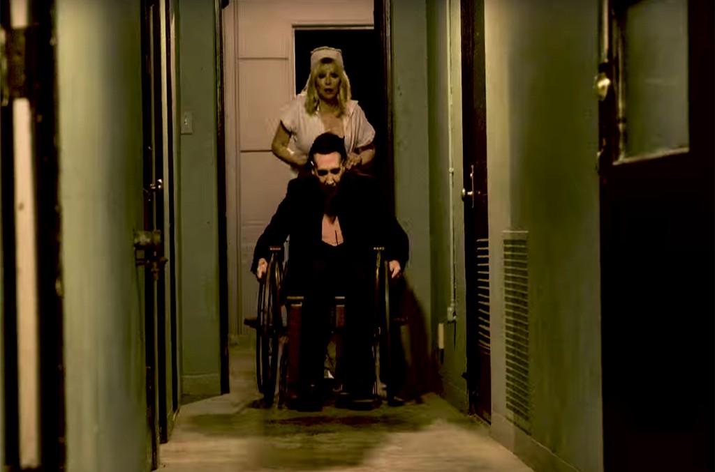 """Marilyn Manson """"Tattooed In Reverse"""""""