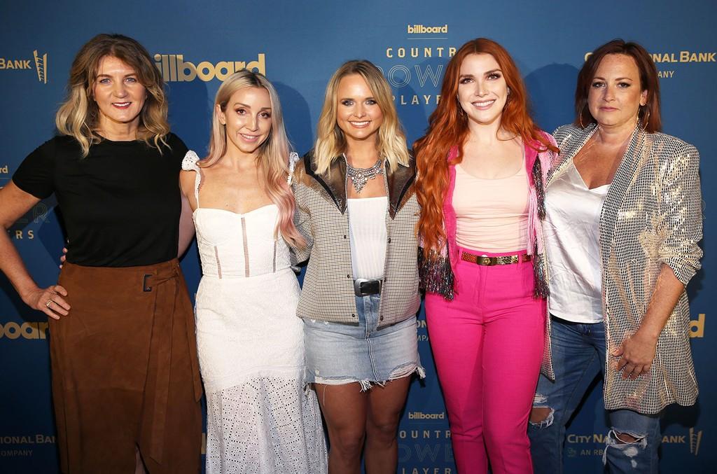 Marion Kraft, Ashley Monroe, Miranda Lambert, Caylee Hammack, and Mary Hilliard Harrington