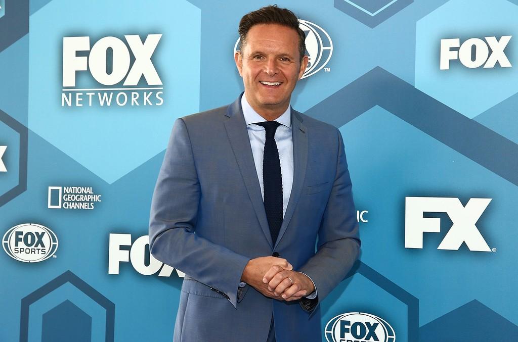 Mark Burnett attends Fox 2016 Upfront Arrivals