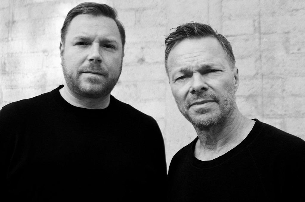 Mark Gillespie and Pete Tong