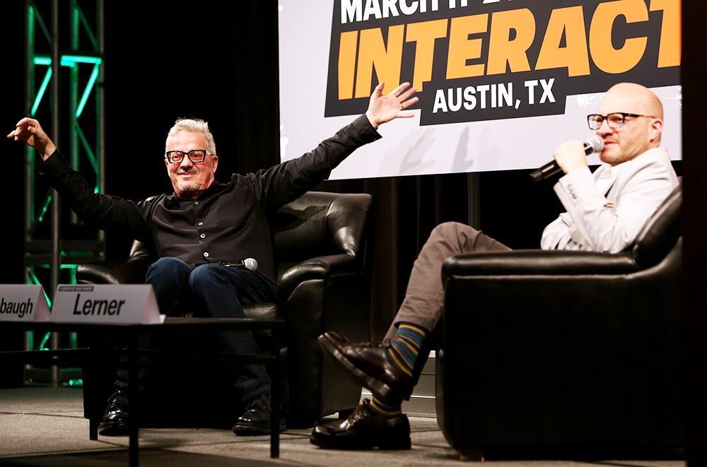 Mark Mothersbaugh and Adam Lerner