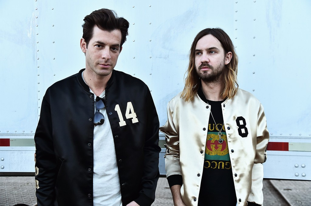 Mark Ronson and Kevin Parker during the 2017 Governors Ball Music Festival - Day 2 at Randall's Island on June 3, 2017 in New York City.