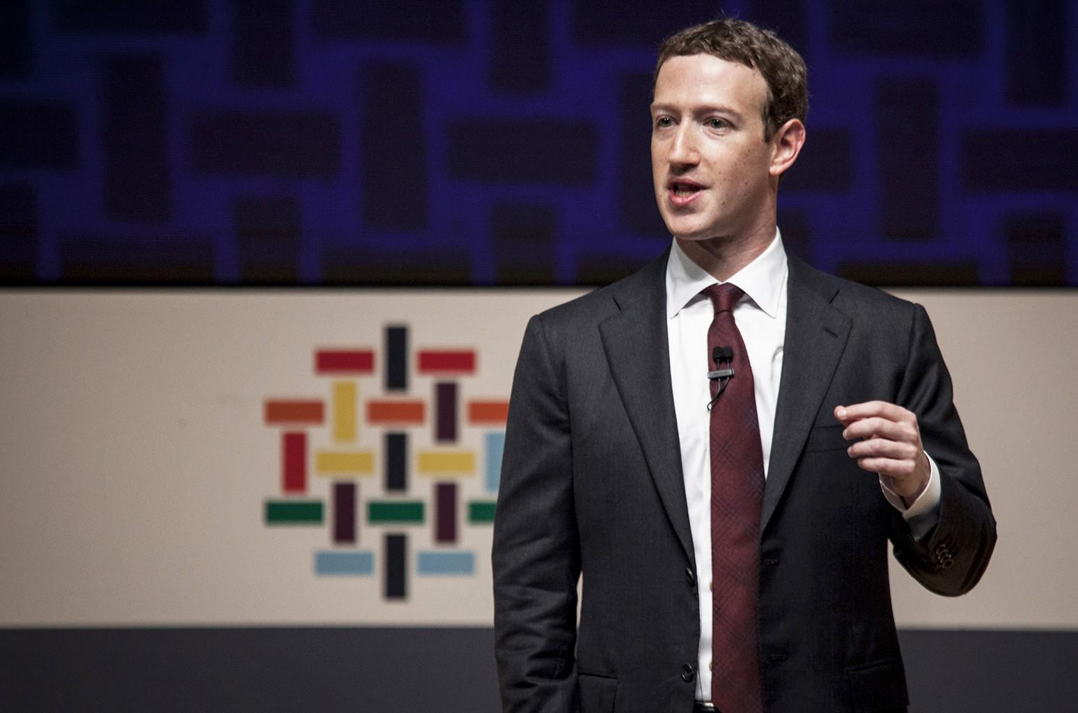 Mark Zuckerberg in 2016