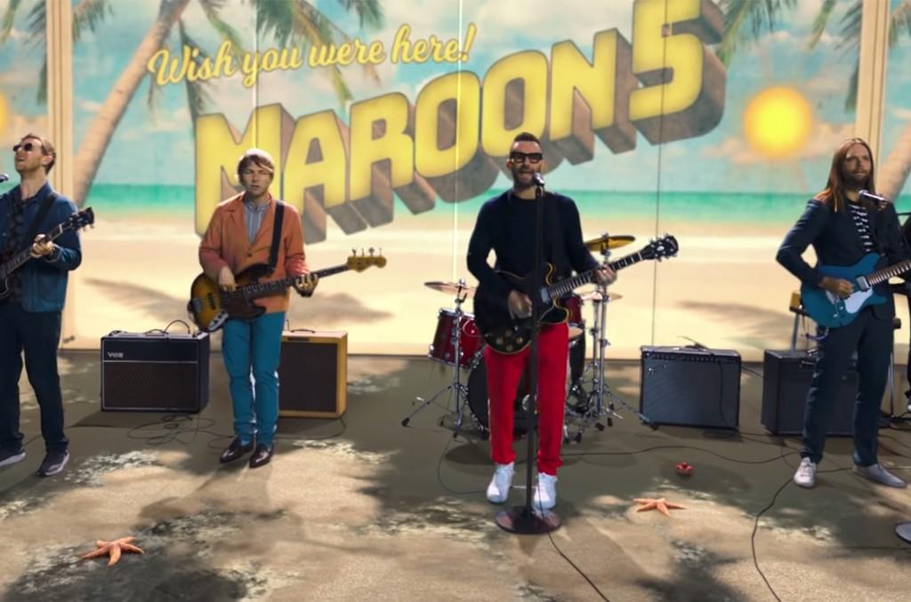 """Maroon 5 """"Three Little Birds"""""""